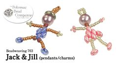 Make Jack & Jill Pendants or Charms