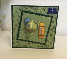 Disney Monsters, Monsters Inc, Lace Design, Cards, Ideas, Decor, Decoration, Map, Decorating