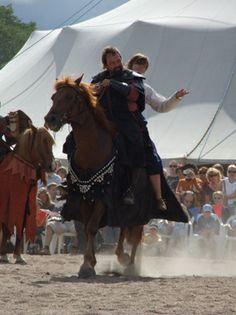 Hämeen keskiaikamarkkinat - Häme Medieval Faire 2007, Hevonen - Horse, © Timo Martola