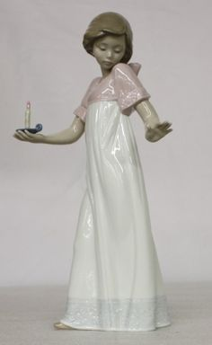 NAO BY LLADRO HANDMADE PORCELAIN TO LIGHT THE WAY FIGURINE | eBay