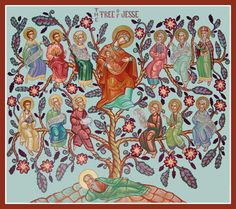 Jesse Tree--This site has great ideas on how to serve others during Advent.