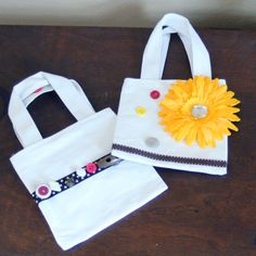 Birthday party craft - decorate pre bought/made tote bags (could be themed to most parties) :-)