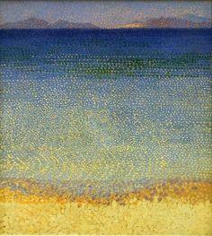 Henri Edmond Cross - The Iles d'Or (The Iles d'Hyeres, Var) 1892