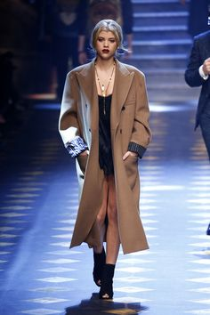 Sofia Richie walks the runway at the Dolce & Gabbana show during Milan Men's Fashion Week Fall/Winter 2017/18 on Jan. 14, 2017 in Milan, Italy.