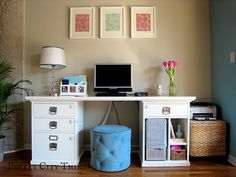 clean, bright office space