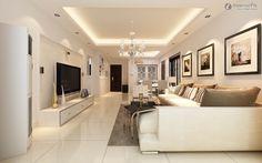 False Ceiling Design Small Apartment