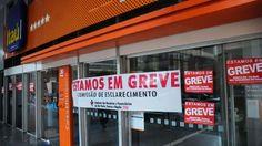 Bancários começam hoje greve por tempo indeterminado
