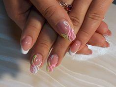 Оригинальный дизайн на ногтях