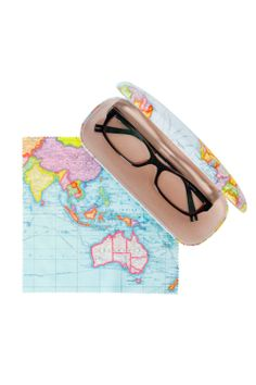 Annabel Trends Glasses Case And Cleaning Cloth - Womens Novelty - Birdsnest Online Store