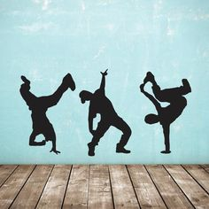 Good Free of Charge Street Dance Wall Stickers - Pack of 3 Hip Hop Dancer Decals Popular Head scientists have looked at performers in the pinnacle and found: they teach important skills an Dance Bedroom, Dance Rooms, Dance Cakes, Teenage Room Decor, Dance Silhouette, Hip Hop Classics, Tango Dancers, Street Dance, Hip Hop Dance