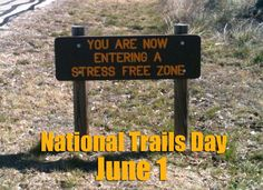 Texas Parks and Wildlife is celebrating National Trails Day June 1 with events across the state. Click through to find one near you!