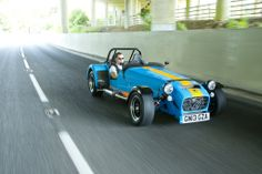 Caterhams will be sold at Hillbank in Irvine.  This electric blue suits the city.  Pick yours!: http://us.caterhamcars.com/