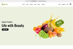 Organic Food Shopify Theme is a modern, unique as well as responsive eCommerce Shopify theme. This eye-catching Shopify theme is looking nice for its clean and smooth design. You can apply this eCommerce theme as your own wish. So, this Shopify theme may be the best solution for you. Try this outstanding theme to launch your online food delivery or any eCommerce web design. $56 #sponsored #ad