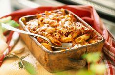Penne Pasta And Tomato Bake Recipe on Yummly