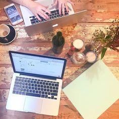 Wednesday work sesh with @stepheats_  #Girlboss #HustleHard #GetShitDone #ButFirstCoffee