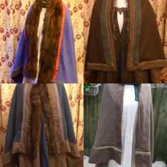 Draicraeft on Etsy created for you hand sewn Viking cloaks with high at tweed herringbone wools tablet weave and vintage fur Sheep Breeds, Viking Reenactment, Tablet Weaving, Viking Woman, Vintage Fur, Herringbone, Vikings, Hand Sewing, Tweed