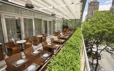 This perennially popular spot has an extensive brunch menu and is one of the few rooftops in the Gold Coast. Get the French omelet for brunch, and the branzino every other time of day.