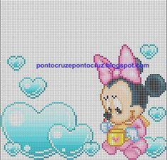 Minnie con bolle a cuore ❤️