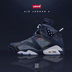 brand new 24af6 62bcd This Levi X Air Jordan Retro 6 mock up looks insane! What model should  Jordan Brand drop next
