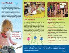 Preschool Program Brochure Birthday Wishes Gif, Preschool Director, Party Blowers, Preschool Programs, School Worksheets, A Classroom, Creative Activities, Childcare, School Design