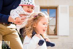Photo d'enfant et bébé en mouvement // kids in movement