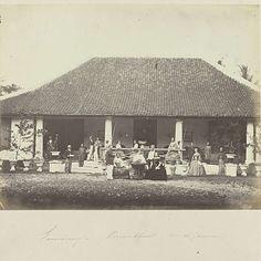 Samarang - Privaathuis (mr de Joannis), Woodbury & Page, 1863 - 1869 - Rijksmuseum
