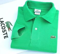 2d353630baea Lacoste Long Sleeve Classic Polo Shirts in Dark Green  32.19
