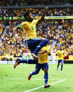 Neymar - epic moment with hyper venom boots during confederations cup -  Fortaleza - Sports Pictures 5f582162a