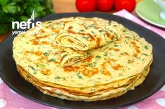 Kaygana Nasıl Yapılır?(videolu) – Nefis Yemek Tarifleri Omelet, Food Art, Tart, Food And Drink, Pizza, Cooking Recipes, Breakfast, Ethnic Recipes, Istanbul
