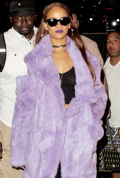 April 11: Rihanna at Coachella Music Festival in Indio, California