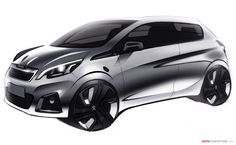 New Peugeot 108: The Design Story