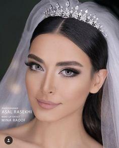 persian bride persian bride - Schönheit von Make-up Wedding Makeup For Brown Eyes, Natural Wedding Makeup, Contour Makeup, Eye Makeup, Persian Makeup, What Is Makeup, Make Up Braut, Beauty Make-up, Bride Makeup