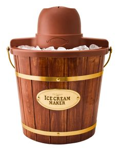 4-qt. Wooden Bucket Electric Ice Cream Maker