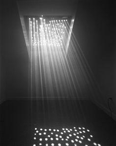 pinholes.  make holes in the attic loft flooring so light above shines through as stars