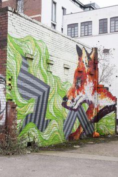 Finding Amazing Street Art in Sheffield