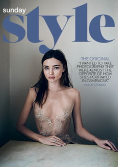 NONI SMITH & SOPHIE ROBERTS for Sunday Style, Miranda Kerr