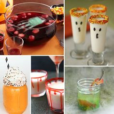 17 Spooky Halloween Drinks.  Any of these drinks will be a great addition to your spooky Halloween party!