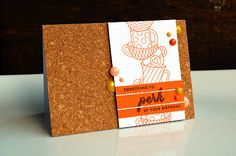 Perk Up Your Birthday Card by Jess Witty for Papertrey Ink (August 2013)