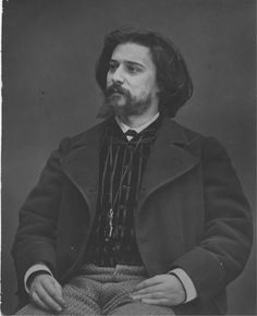 "Alphonse Daudet Nîmes (Kingdom of France) May 13 1840 Paris (France) December 16 1897 French novelist, his best-known works are the novels ""Lettres de Mon Moulin"" and ""Tartarin de Tarascon"" Alphonse Daudet, Marcel Proust, Historical Maps, Caricature, Old Photos, Famous People, Photo Art, Novels, Writers"