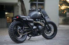 Triumph Bonneville Scrambler by Rajputana Custom Motorcycles 3