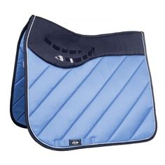 HKM Silicone Grip Saddlecloth Parma - Middle Blue - Saddlecloths & Pads - Saddlery - Tack   Equestrian Performance