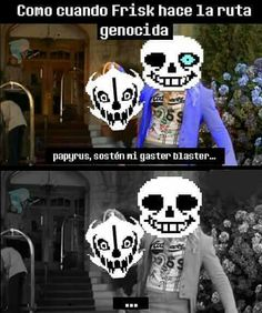 Read ~Gaster Blaster~ from the story ▶Boludeces De Undertale◀ by Lirulkuin ([ín]ѕєgurα. Undertale Movie, Undertale Memes, Sans Meme, Gaster Blaster, Bendy And The Ink Machine, Im Bored, Bad Timing, Best Games, Haha Funny