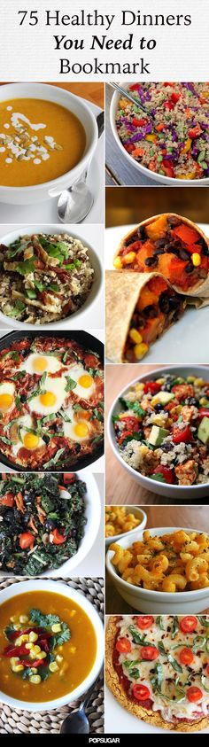 Don't stay stuck in that healthy dinner rut one more night...delicious and easy ideas!