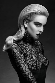 Chiaroscuro photography, portrait photography, black and white makeup, blac Hair Photography, White Photography, Portrait Photography, Fashion Photography, Chiaroscuro Photography, Lingerie Photography, Creative Hairstyles, Cool Hairstyles, Portrait Inspiration