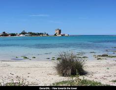 Sabbia bianca e mare turchese di sant'isidoro.  E-book spiagge: http://eepurl.com/C6XNT