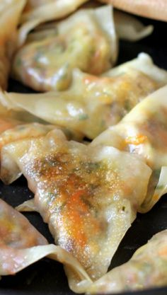 Vegetable Pot Stickers...