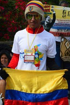 Gran marcha por la Paz, Justicia Social, ASCAMCAT, Acompañamiento Internacional, IAP, 9 de abril, Colombia