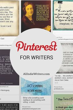 "While it might sound strange, one of the best social networks for writers might also be the most visually oriented. Yes, I'm talking about Pinterest. Even though Pinterest doesn't revolve around your writing itself, it offers a lot of opportunities bloggers and authors, in particular, shouldn't pass up. So in this week's ""weekend reading"" roundup, let's take a look at a few …"