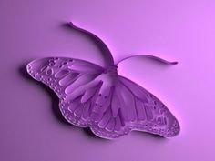 quilled butterfly by queen pink 1981