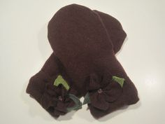 Grosse Pointe Woods Wool  & Cashmere Mittens by MichMittensbyLauri, $28.00